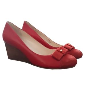 Cole Haan Grand Bow Closed Toe Wedge
